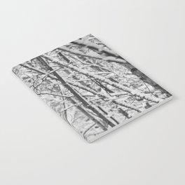 Woodland snow Notebook