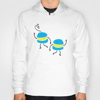 macaron Hoodies featuring Dancing macaron by Cindys