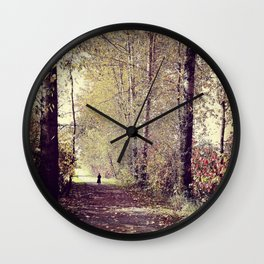 Story Book Forest Wall Clock