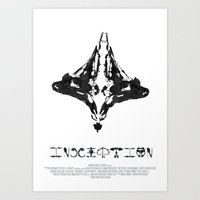 inception Art Prints featuring Inception by Denzel Boyd