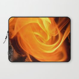 swirling flame Laptop Sleeve