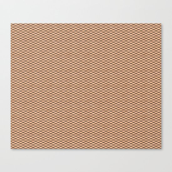 Fishnets and Skin Texture Canvas Print