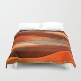 """Sea of sand and caramel waves"" Duvet Cover"