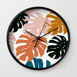Tropical plant XIV Wall Clock
