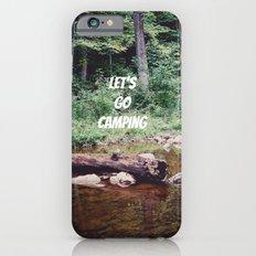 Let's Go Camping II iPhone 6s Slim Case