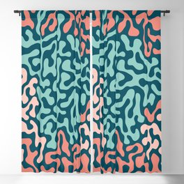 Cheerful Spotted Blackout Curtain