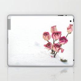 Rose in Snow Laptop & iPad Skin