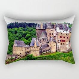 castle eltz, germany. Rectangular Pillow