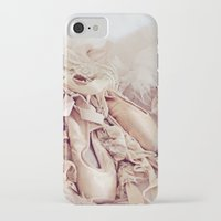 shabby chic iPhone & iPod Cases featuring Shabby Chic Ballet by Shabbyfufu