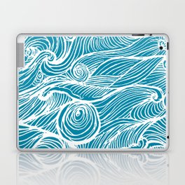 Rough sea (our earth) Laptop & iPad Skin