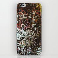 brussels iPhone & iPod Skins featuring Montana Shop, Brussels by Snerk One