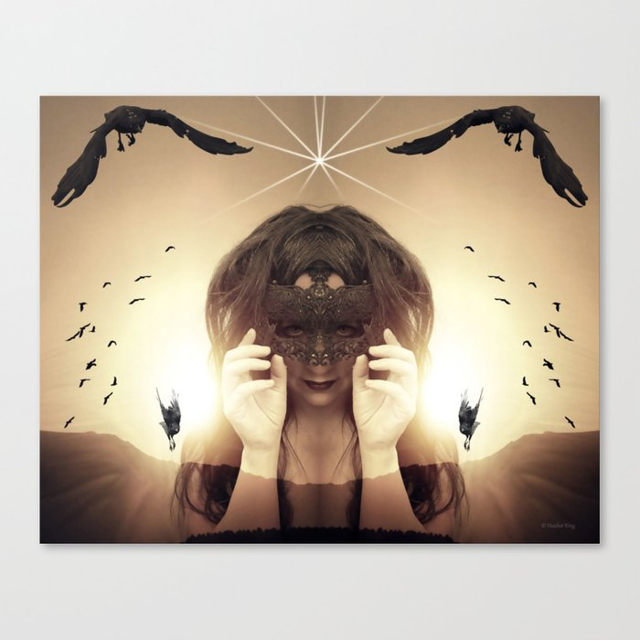 You will never get my submission Canvas Print