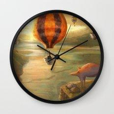 Ballooning Wall Clock