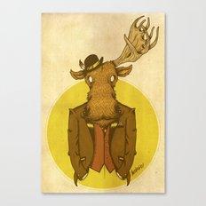 {Bosque Animal} Alce Canvas Print