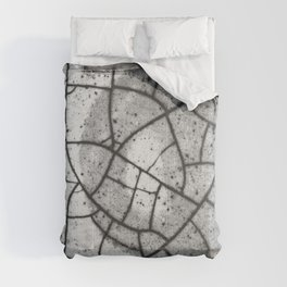 Crackled abstract texture Comforters