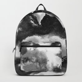 Black and White Abstract Painting #1 #ink #decor #art #society6 Backpack