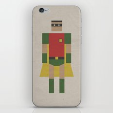 Retro Robin iPhone & iPod Skin