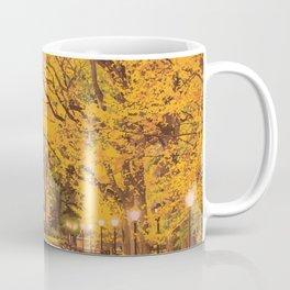 Autumn in Central Park Coffee Mug