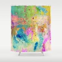 horses Shower Curtains featuring Horses  by Latidra Washington