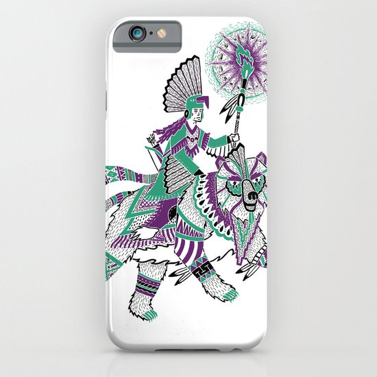 The Bear Rider iPhone & iPod Case