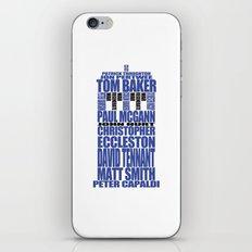 War, Regenerate, War. iPhone & iPod Skin