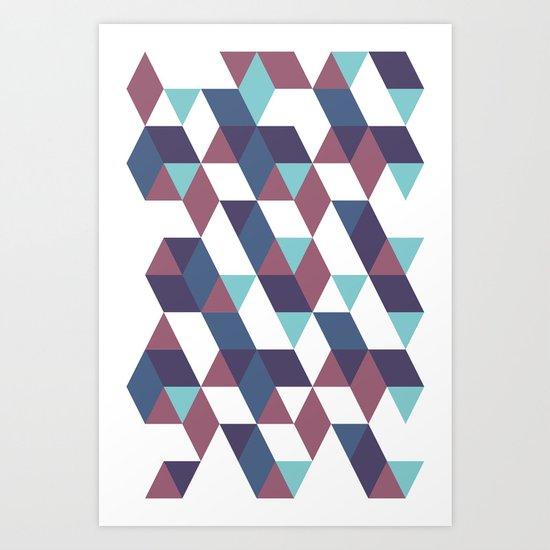 Trangled Art Print