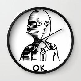 Ok Hero Wall Clock