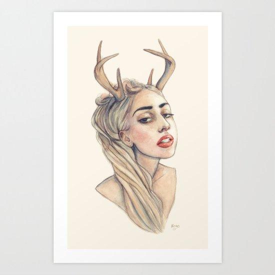 Doe Art Print