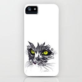 Intense Cat iPhone Case