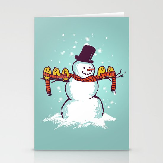 Sharing is caring (Winter edition) Stationery Cards