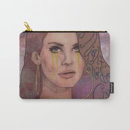 Lana - Deadly Nightshade Crying Tears Of Gold Carry-All Pouch