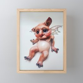 Grugg the goblin 2 Framed Mini Art Print