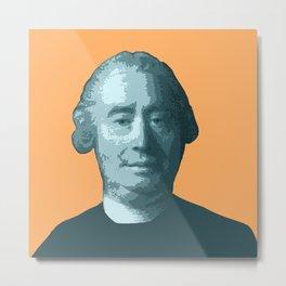 David Hume Metal Print