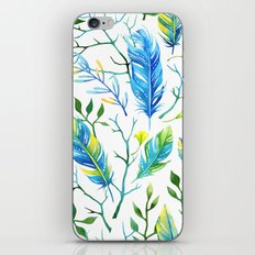 Feathers Pattern 05 iPhone & iPod Skin