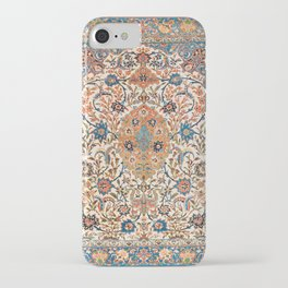 Isfahan Antique Central Persian Carpet Print iPhone Case