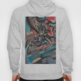 Different Viewpoints Modern Abstract Painting Hoody