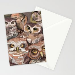 Don't give a hoot Stationery Cards