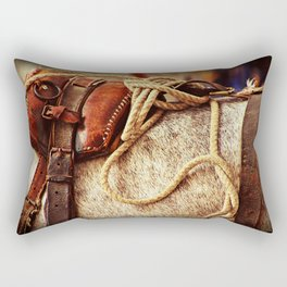 Ropes and Harness Rectangular Pillow