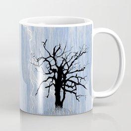 Gnarled Tree and Lightning Coffee Mug