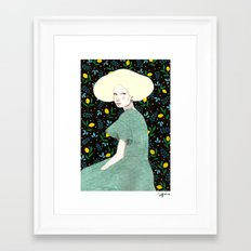 Iva Framed Art Print
