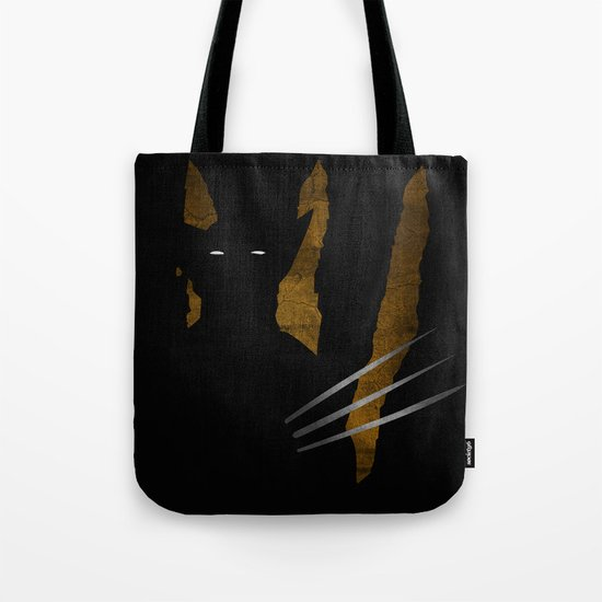 SuperHeroes Shadows : Wolverine Tote Bag
