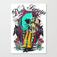 Dead serious Canvas Print