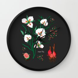 SEGO LILY Wall Clock