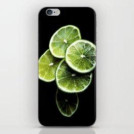 lemon lima iPhone Skin