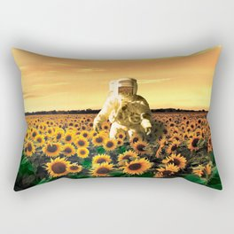 Space Gardener Rectangular Pillow