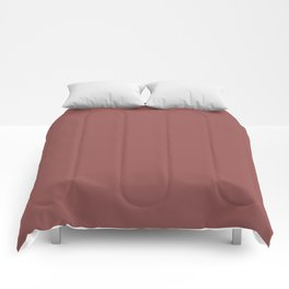 Trapani (Wine/Red) Color Comforters