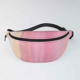 19      190728   Romance Watercolour Painting Fanny Pack