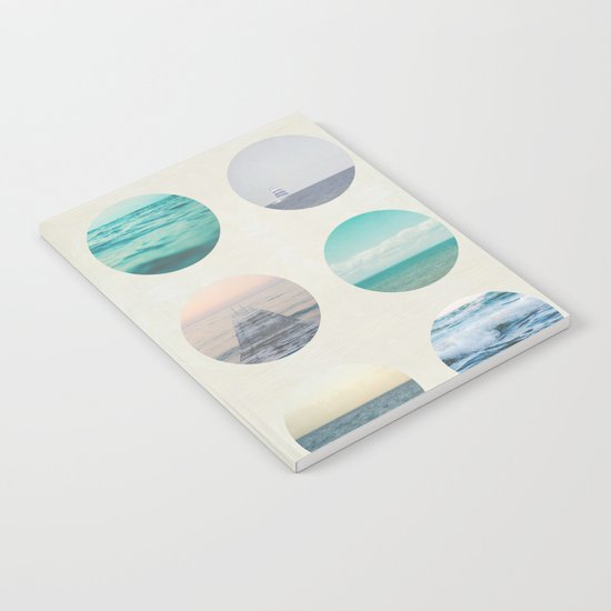 Ocean Polka dot  Notebook