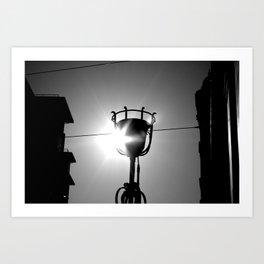 lights on  Art Print