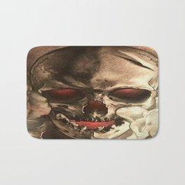 Red Eyed Skul Bath Mat